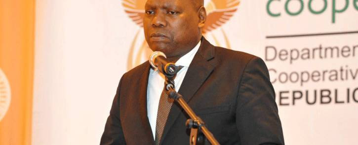 FILE: Cooperative Governance Minister Zweli Mkhize. Picture: @NationalCoGTA/Twitter