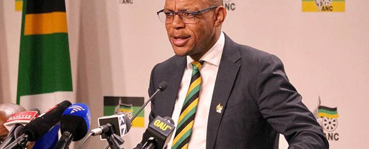 FILE: ANC's Pule Mabe on 29 May 2018. Picture: @MYANC/Twitter