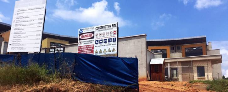 The Mpumalanga high court under construction. Picture: Africa Check