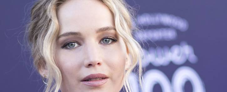 FILE: US actress Jennifer Lawrence. Picture: AFP.
