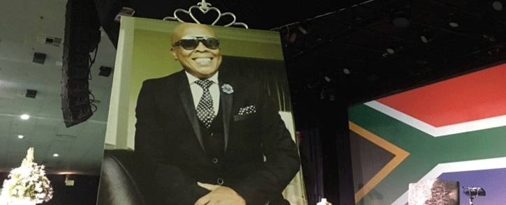 The funeral service for the late music producer Robbie Malinga at the Rhema Church in Randburg. Picture: Mia Lindeque/EWN