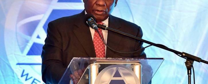 President Cyril Ramaphosa. Picture: @CyrilRamaphosa/Twitter