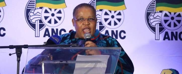 ANCWL general secretary Meokgo Matuba. Picture: ANCWLNational/Facebook