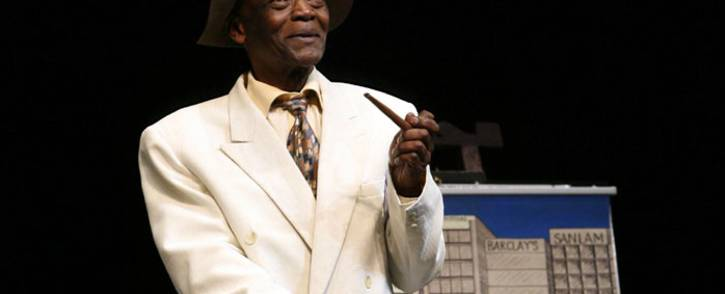 Winston Ntshona on 'Sizwe Banzi is dead'. Picture: RuphinCoudyzer/Market Theatre.