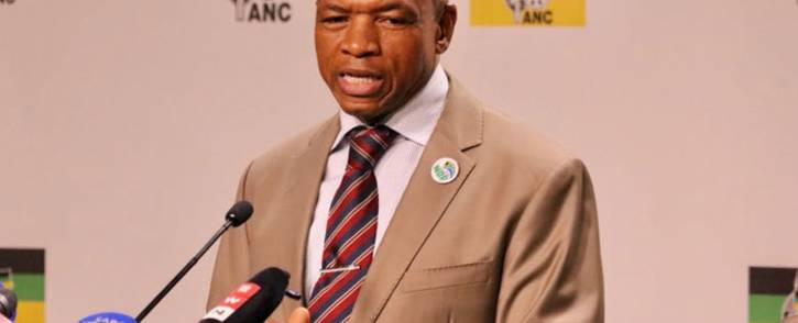 FILE: Ousted North West provincial chairperson Supra Mahumapelo. Picture: @MYANC/Twitter.