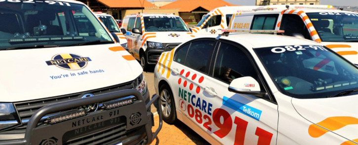 One person was shot dead and another seriously wounded in a shooting in Cleveland, Johannesburg, on Friday 5 October 2018. Picture: @Netcare911_sa/Twitter