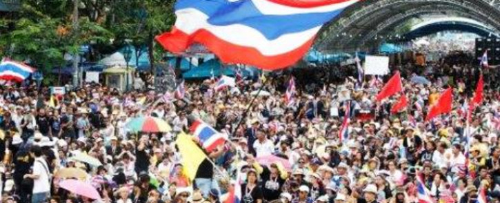 FILE: Thailand's military government has readied thousands of troops and police to stop any protests. Picture: Twitter