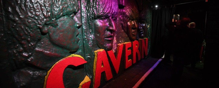 FILE: The entrance foyer to the Cavern Club, a music venue played at by The Beatles, is pictured in Liverpool, north-west England on 16 January 2017. Picture: AFP