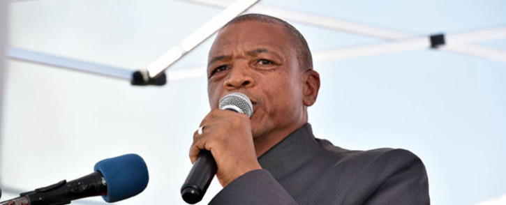 FILE: Premier of the North West Province, Supra Mahumapelo. Picture: GCIS.