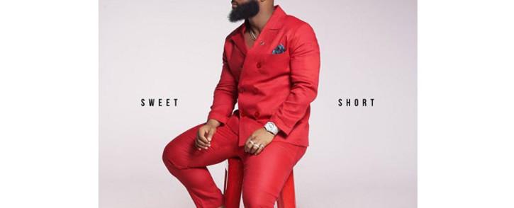 Cassper Nyovest's album cover for 'Sweet and Short'. Picture: @CassperNyovest/Instagram