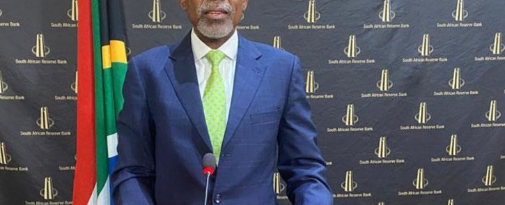 South African Reserve Bank (Sarb) Governor Lesetja Kganyago. Picture: @SAReserveBank/Twitter