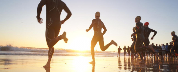 Two participants at the Ironman competition taking place in Port Elizabeth died on 7 April 2019. It is understood that the competitors died in the hospital shortly after the swimming race at Hobie Beach. Picture: @ironmansouthafrica/Facebook