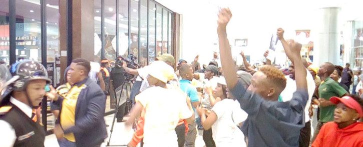 FILE: The launch of Pieter-Louis Myburgh's book 'Gangster State' at Sandton City Mall. Picture: Bonga Dlulane/EWN