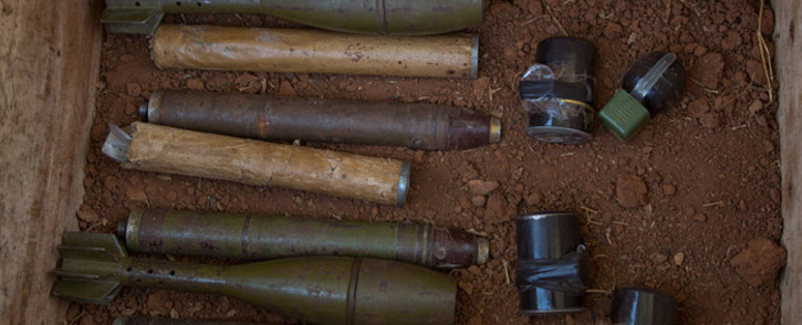 FILE: Weapons seized by MINUSCA during a military operation in Bria. Picture: United Nations Photo.