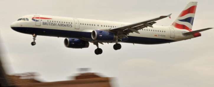 FILE: A British Airways aircraft prepares to land at Heathrow Airport in west London. Picture: AFP.