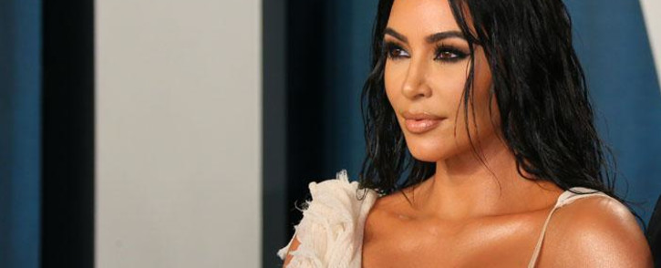 FILE: Kim Kardashian at the 2020 Vanity Fair Oscar Party following the 92nd Oscars on 9 February 2020. Picture: AFP.