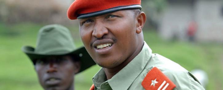 FILE: DRC warlord General Bosco Ntaganda. Picture: AFP.
