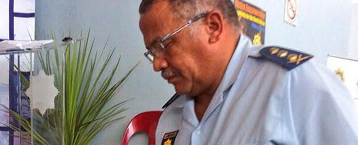 Western Cape Police Commissioner Arno Lamoer. Picture: Mia Spies/EWN