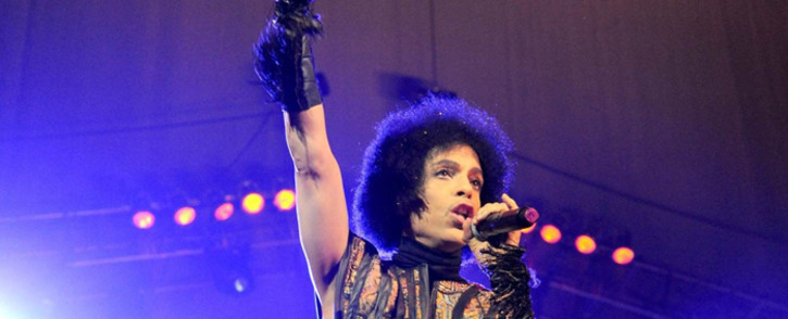FILE: Prince in performance. Picture: AFP.
