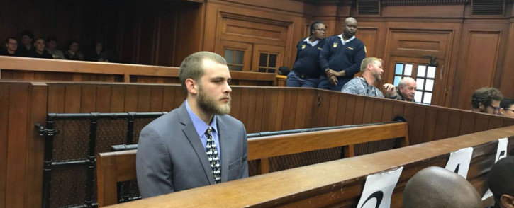 Convicted murderer Henri van Breda. Picture: Cindy Archillies/EWN