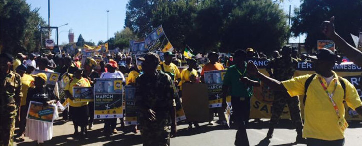 The group is moving from Orlando to Eskom's headquarters in Diepkloof. Picture: Dineo Bendile/EWN.