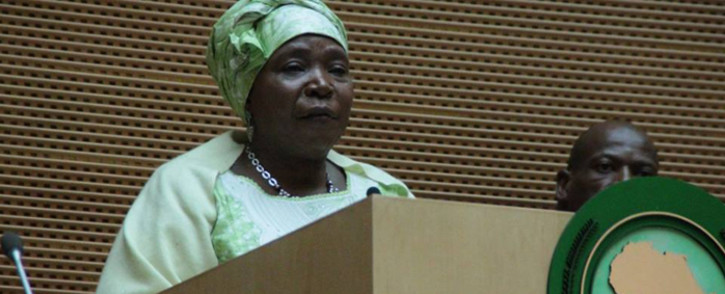 FILE. African Union Commission chairperson Nkosazana Dlamini-Zuma. Picture: African Union Facebook page.