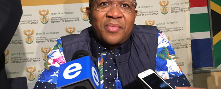 Sports and Recreation Minister Fikile Mbalula. Picture: Vumani Mkhize/EWN.