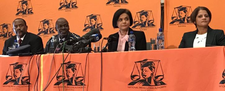 FILE: Prosecutions boss Shamila Batohi (second from right). Picture: Barry Bateman/EWN