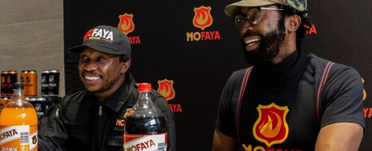 Dj Sbu has expanded his MoFaya energy drinks brand by adding a new range of soft drinks. Picture: Supplied.