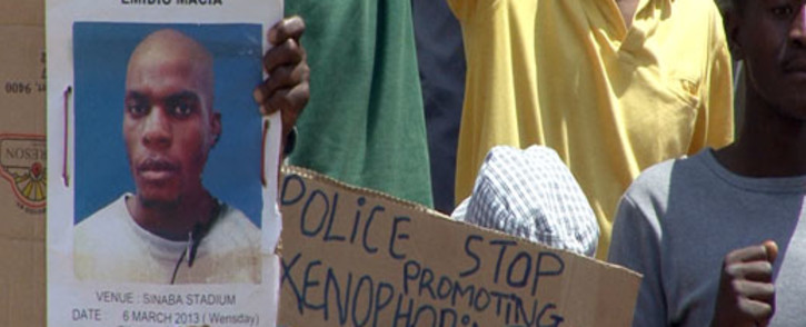 GONE BUT NOT FORGOTTEN: Mido Macia's death recaptured the attention of a society which had become somewhat desensitised to the issue police brutality.