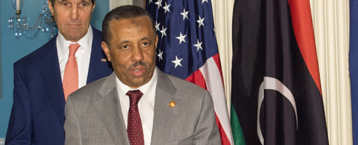 Libyan Prime Minister Abdullah al-Thinni. Picture: AFP