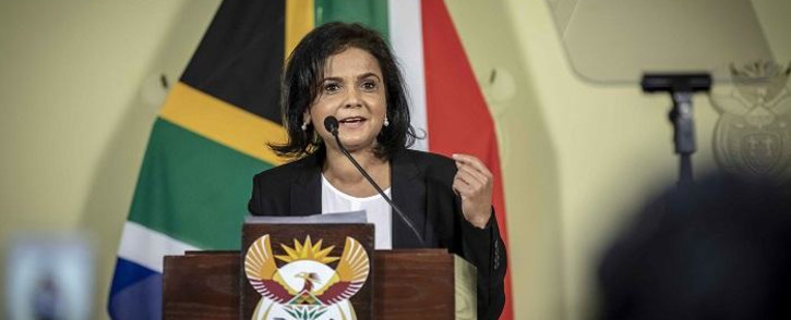 FILE: Advocate Shamila Batohi is announced as the new NDPP at the Union Buildings in Pretoria on 4 December 2018. Picture: Thomas Holder/EWN