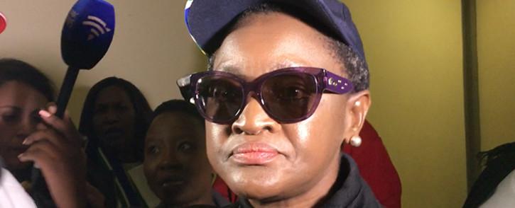 FILE: Bathabile Dlamini at a Mandela Day event. Picture: Thomas Holder/EWN
