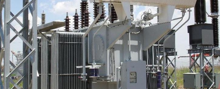 FILE: An Eskom substation. Picture: @Eskom_SA/Twitter