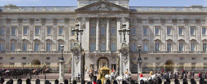 Buckingham Palace. Picture: AFP.