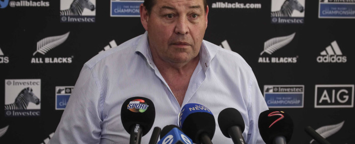 All Blacks coach Steve Hansen. Picture: Cindy Archillies/EWN