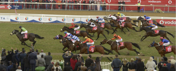 The Conglomerate has won the 2016 Vodacom Durban July horse race at the Greyville Racecourse. Picture: vodacomdurbanjuly.co.za