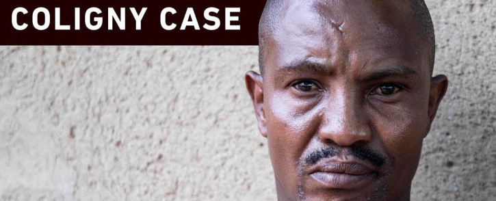 State witness in the Coligny murder case, Bonakele Pakisi, speaks to EWN following the sentencing of convicted killers Pieter Doorewaard and Phillip Schutte. Picture: Abigail Javier/EWN