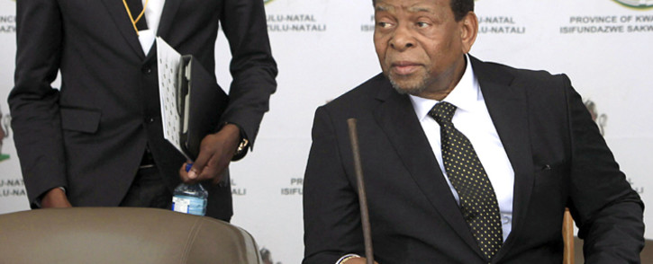 FILE: King Goodwill Zwelithini was the longest-serving Zulu monarch with a reign that spanned over five decades. He passed away on Friday, 12 March 2021. Picture: AFP