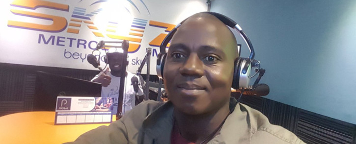 The journalist well-known Zenzele Ndebele was arrested after police found a used tear gas canister in his car.
