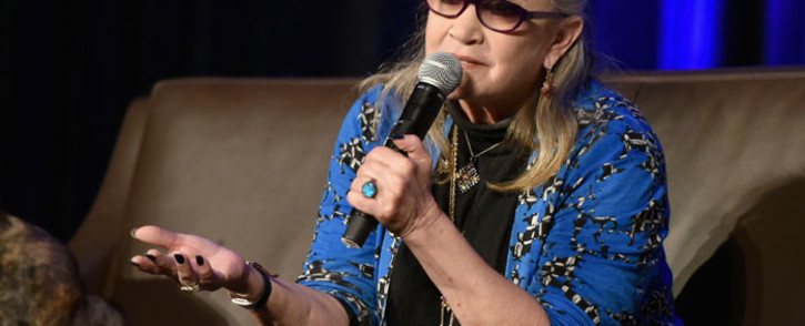 The late 'Star Wars' actress Carrie Fisher. Picture: AFP