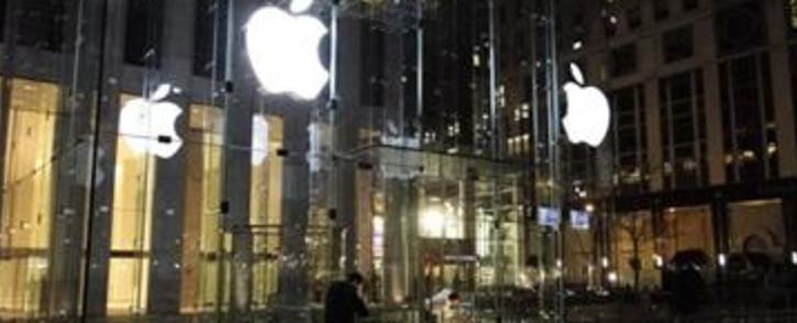 The Apple store in New York. Picture: Rainier Vermaak/iWitness.