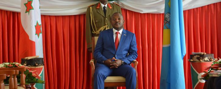FILE: Burundi president Pierre Nkurunziza. Picture: AFP