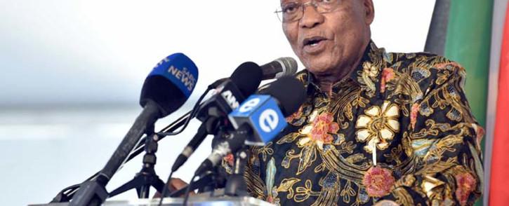 Former president Jacob Zuma. Picture: GCIS.