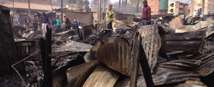 FILE: The LRC says the City of Cape Town illegally destroyed shacks in Philippi East. Picture: Christa Van der Walt/EWN