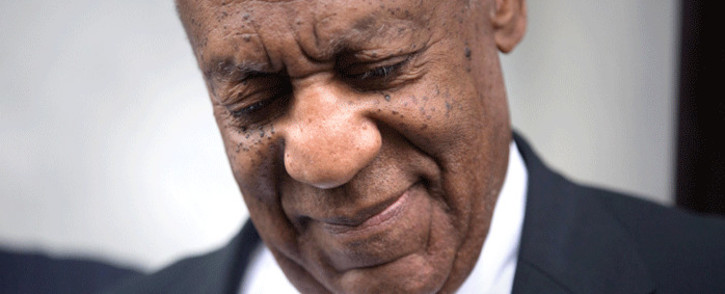 FILE: Bill Cosby leaves the Montgomery County Courthouse on 17 June 2017. Picture: AFP