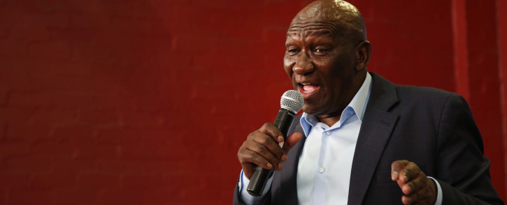 Minister Bheki Cele visited police operations in Gugluthu and Phillipi East, before addressing residents on 13 March 2018. Picture: Bertram Malgas/EWN