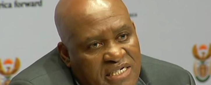 YouTube screengrab of Hawks Major General Berning Ntlemeza.