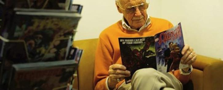 Comic book legend Stan Lee. Picture: @therealstanlee/Instagram.