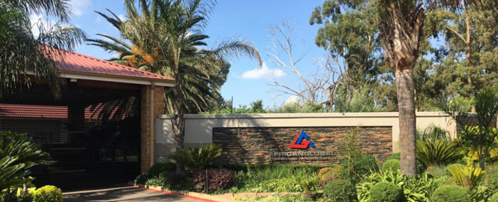 A general view of the African Global Group offices in Krugersdorp. Picture: Kgomotso Modise/EWN.